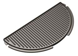 Afbeelding van BIG GREEN EGG HALF MOON CAST IRON PLANCHA GRIDDLE