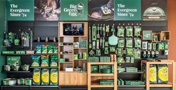 Afbeelding van BIG GREEN EGG SHOP IN SHOP